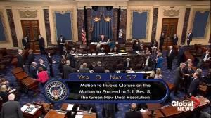 Green New Deal procedural vote fails in Senate