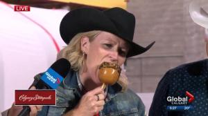 A Calgary Stampede taste test with Global News and 770 CHQR