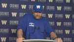 RAW: Blue Bombers Mike O'Shea Media Briefing – Aug. 23