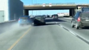 Impatient motorist caught on dash cam in Laval