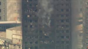 London apartment fire: 'It's like something out of a horror movie' says witness