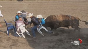 Officer plays high stakes poker at annual Calgary Police Rodeo