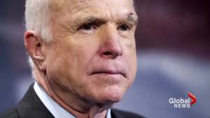 Support and prayers pour in from political world for John McCain