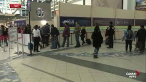 Busiest travel day of the year at Edmonton International Airport