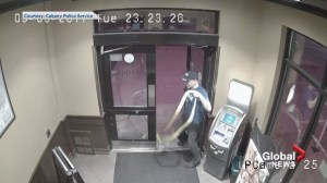 CCTV video shows attempted theft of Calgary ATM