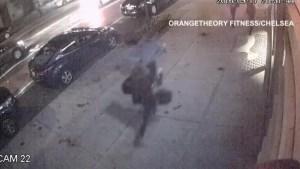 Surveillance video of Saturday night's explosion in New York City