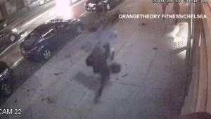 Surveillance video of Saturday night's explosion in New York City