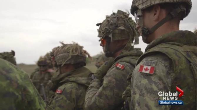 Click to play video: Largest Canadian army training event of the year underway in Alberta