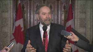 Mulcair: You can't build solid pipelines on a defective foundation