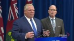 Doug Ford moves to invoke notwithstanding clause regarding Toronto council cuts