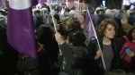 International Women's Day march in Turkey dispersed by riot police