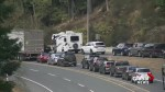 Malahat closed in both directions again, this time because of a rockslide