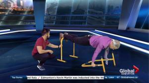 Fit Tips with Blitz Conditioning: Lebert equalizer bars workout