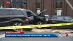 3 injured in multi-vehicle crash in downtown Toronto