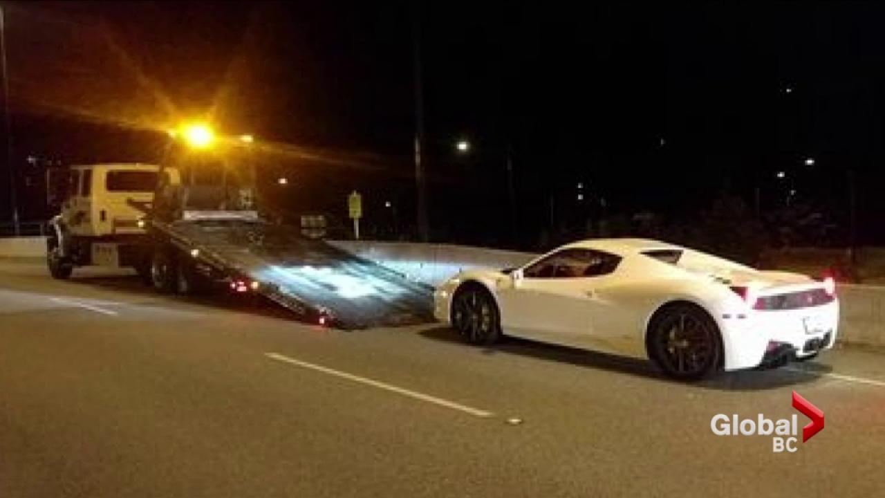 Meanwhile, In Delta, Police Impounded A Rented Lamborghini After The  American Driver Was Caught Driving At 155 Km/h On Highway 99, More Than 60  Km/h Over ...
