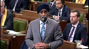 Harjit Sajjan formally apologizes, retracts statement on role in Medusa