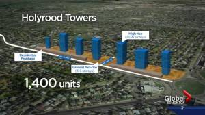 Proposal sees blocks of residential towers in Holyrood