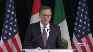 Lighthizer questions NAFTA over $87B trade deficit with Canada
