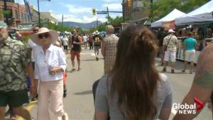 Downtown Kelowna shut down as block party rocks the blocks