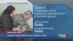 Canada Day terror trial: Nuttall and Korody found guilty
