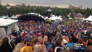 Folk Festival volunteers say Thursday's evacuation went smoothly (01:57)