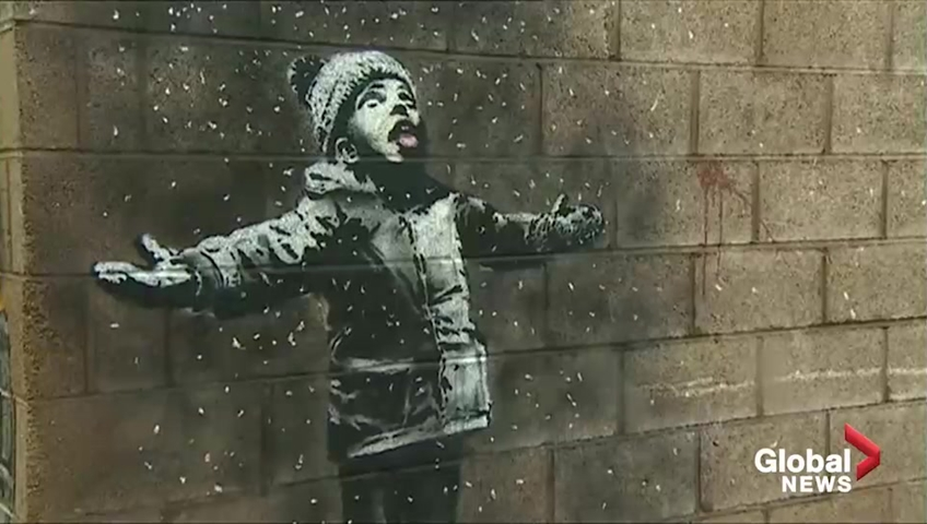 Banksy claims artwork referencing steelworks in Port Talbot
