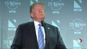 Trump says 'fake news media' are helping human traffickers
