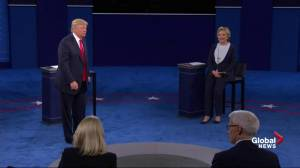 Presidential debate: Trump never spoke with running mate Mike Pence over Syria, but disagrees with him