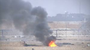 Six Palestinians killed in border protests, Gaza health officials say
