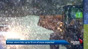 Another winter storm hits southern Ontario