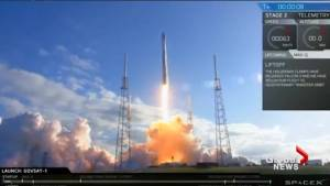 SpaceX rocket launched with NATO surveillance satellite