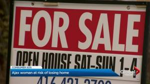 Canadians with mortgages teetering on trouble (02:25)