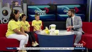 Albertans take part in Lemonade Stand Day