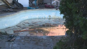 Driver killed after plunging truck into pool in Kelowna