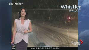 BC Evening Weather Forecast: Nov 15