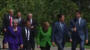 Trump says to make Russia (part of) G8 again; bashes Canada and allies