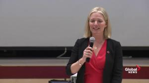 Catherine McKenna discusses carbon tax, slams Doug Ford