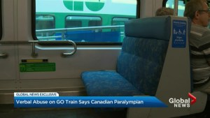 Former Canadian Paralympian receives verbal abuse on GO train