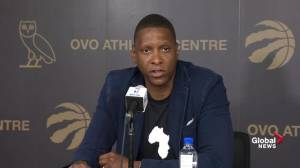 Masai Ujiri says Raptors prioritize visiting Trudeau over Trump