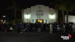 Vigil held at California mosque where arsonist left note citing New Zealand attack