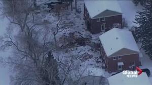 Apparent shed explosion rocks Edmonton's Griesbach neighbourhood