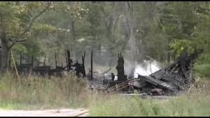 Fire destroys house in Burleigh Falls