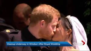 The day after the Royal Wedding