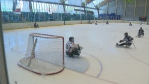 Richmond Oval hosts National Sledge Hockey Championships this weekend