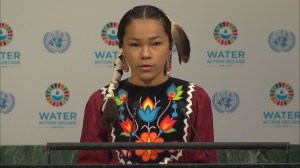 13-year-old water activist speaks at U.N.