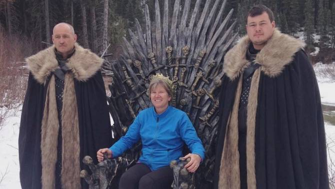 'Quite surreal': B.C. couple finds 1 of 6 'Game of Thrones' iron thrones hidden around the world