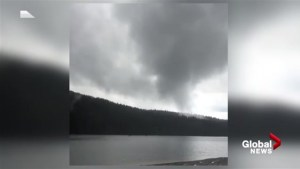 Rare tornado captured on video outside of Mission, B.C.