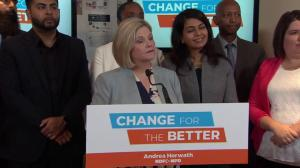 Andrea Horwath says Ontarians are 'so cynical about politics'