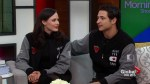 Tessa Virtue and Scott Moir say Thank You Canada