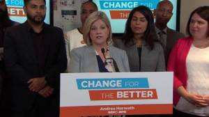 Ford 'doesn't have guts' to be upfront about plans: Andrea Horwath